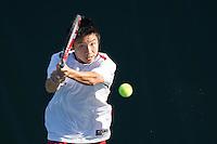 Stanford (M) Tennis vs. California, February 22, 2014