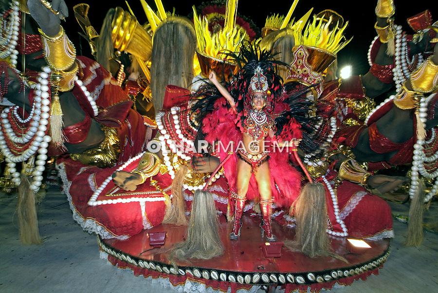 Desfile de carnaval. Rio de Janeiro. 2007. Foto de Catherine Krulik.