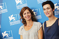 Venice, Italy - September 01: Alix Delaporte and Clotilde Hesme attends the 'Le Dernier Coup De Marteau' photocall at Palazzo Del Cinema, during the 71st Venice Film Festival on September 01, 2014 in Venice, Italy. (Photo by Mark Cape/Inside)<br /> Venezia, Italy - September 01: Alix Delaporte e Clotilde Hesme presente al photocall di 'Le Dernier Coup De Marteau' al Palazzo Del Cinema, durante del 71st Venice Film Festival. Settenbre 01, 2014 Venezia, Italia. (Photo by Mark Cape/Inside Foto)