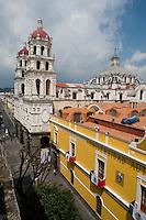 Iglesia de la Compañia de Jesus. City of Puebla, Mexico