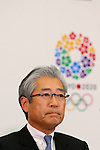 Tsunekazu Takeda, JANUARY 24, 2014 : Tokyo Organising Committeee of the Olympic and Paralympic Games member attend press conference in Tokyo, Japan. The Tokyo Organising Committee of the Olympic and Paralympic Games (Tokyo 2020) was formally established today and will be headed by former Prime Minister of japan Yoshiro Mori.  Photo by Yusuke Nakansihi/AFLO SPORT) [1090]