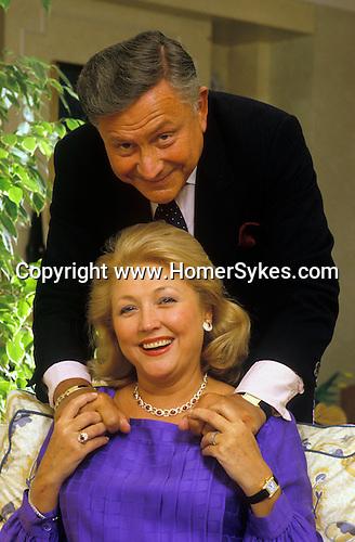 Barbara Taylor Bradford husband Robert London 1990s UK