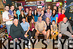 Surprise 50th Birthday for Martin Farrell, Manor Tralee, celebrating with family and friends at the Greyhound Bar on Saturday
