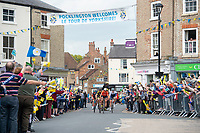 Picture by Allan McKenzie SWpix.com - 03/05/2018 - Cycling - 2018 Tour de Yorkshire - Stage 1: Beverley to Doncaster - The break comes through Pocklington, fans, crowds.