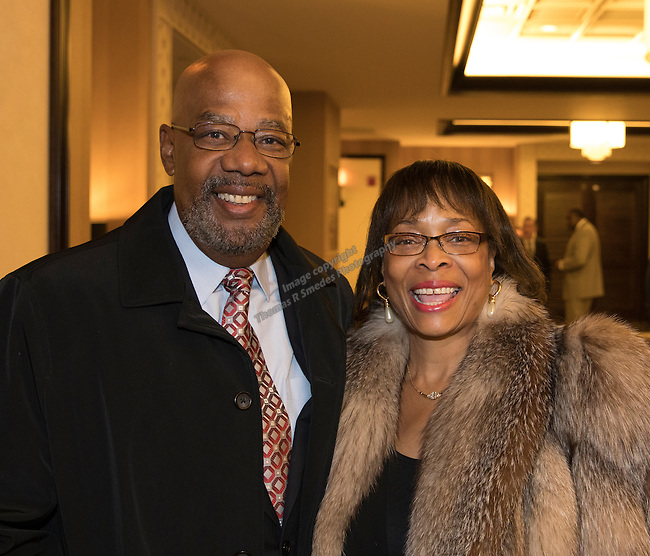James and Jean Smith during the 29th Annual Dr. Martin Luther King, Jr. Dinner Celebration at the Atlantis Casino Resort Spa in Reno, Monday night, Jan. 16, 2017.