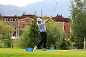 Peter Baker (ENG) during the third round of the Kazakhstan Open played at Zhailjau Golf Resort, Almaty on September 15, 2012 in Almaty, Kazakhstan.(Picture Credit / Phil Inglis)