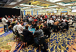 A view of the 25K High Roller tournament area.