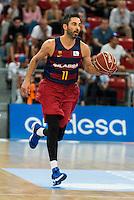 FC Barcelona Lassa player Juan Carlos Navarro during the final of Supercopa of Liga Endesa Madrid. September 24, Spain. 2016. (ALTERPHOTOS/BorjaB.Hojas) NORTEPHOTO.COM