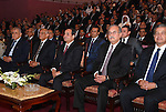 "A handout picture released by the Egyptian Presidency on July 4, 2016, shows Egyptian President Abdel Fattah al-Sisi attends a ceremony on the third anniversary of the revolution in Opera House in the capital Cairo. Sisi described as a ""revolution"" the protests that led to the army ousting his Islamist predecessor, in remarks on the third anniversary of the demonstrations. Millions took to the streets of Cairo and other cities on June 30, 2013 to call for the removal of Islamist president Mohamed Morsi, whose one-year rule had been deeply divisive. Photo by Egyptian President Office"