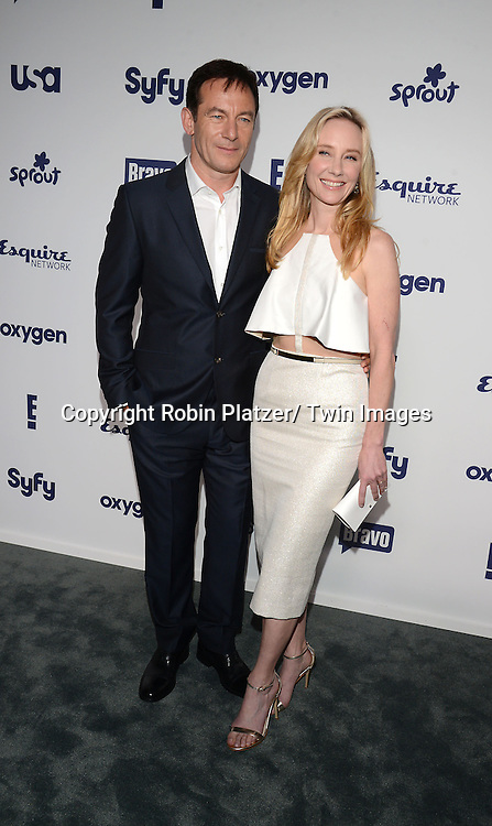 Jason Isaac and Anne Heche  of &quot;Dig&quot; attends the NBCUniversal Cable Entertainment Upfront <br /> on May 15, 2014 at The Javits Center North Hall in New York City, New York, USA.
