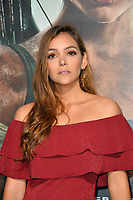 Maria Laura Quintero at the US premiere for &quot;Tomb Raider&quot; at the TCL Chinese Theatre, Los Angeles, USA 12 March 2018<br /> Picture: Paul Smith/Featureflash/SilverHub 0208 004 5359 sales@silverhubmedia.com