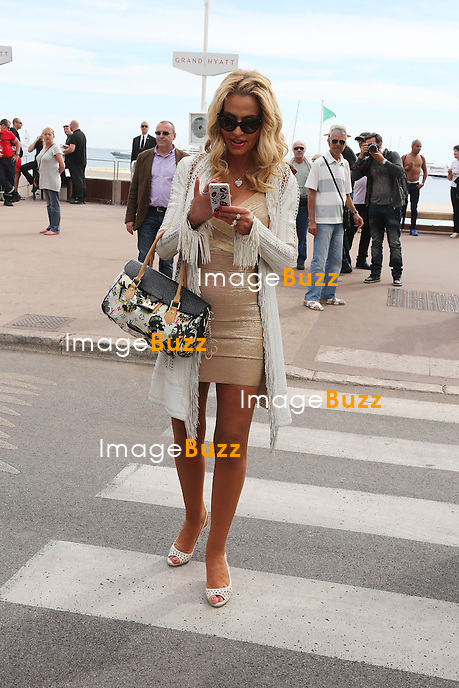 Valeria Marini Strolling on the Croisette during the 67th Annual Cannes Film Festival<br /> France, Cannes, May 16, 2014.