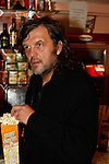 "Oct 29 2009 Athens Greece. Director Emir Kusturica presented the new film ""Maradona"" in the Panorama of European Cinema festival..""Maradona"" is a documentary on Argentine soccer star Diego Maradona. Credit Aristidis Vafeiadakis/ZUMA Press"