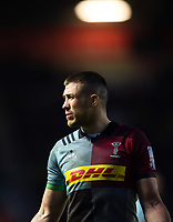 Mike Brown of Harlequins. Gallagher Premiership match, between Harlequins and Leicester Tigers on May 3, 2019 at the Twickenham Stoop in London, England. Photo by: Patrick Khachfe / JMP