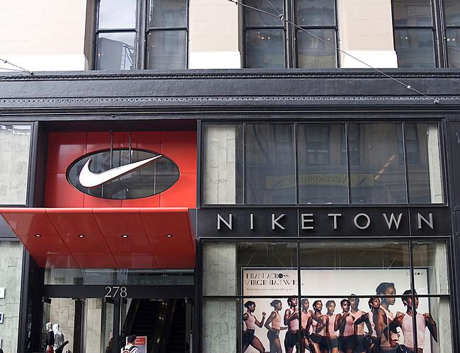 Niketown, Post Street, San Francisco, California