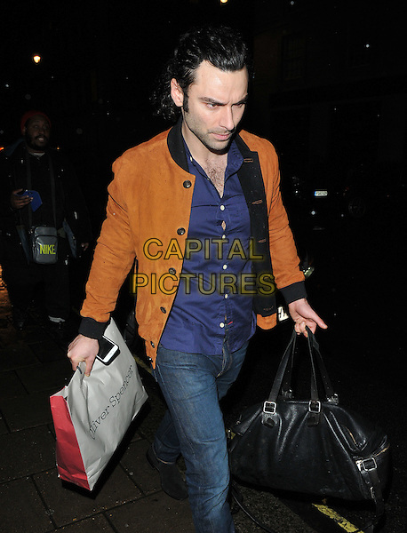 Aidan Turner at the Radio Times Covers Party, Claridge's Hotel, Brook Street, London, England, UK, on Tuesday 31 January 2017.<br /> CAP/CAN<br /> &copy;CAN/Capital Pictures
