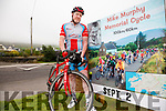 The second annual Mike Murphy Cycle will take place on September 2nd at 10am from the Marina in Cahersiveen, pictured here Mike Greaney getting in a solo training session for the event.