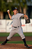 Brandon Braboy (34) of the Tampa Yankees during a game vs. the Lakeland Flying Tigers May 15 2010 at Joker Marchant Stadium in Lakeland, Florida. Tampa won the game against Lakeland by the score of 2-1.  Photo By Scott Jontes/Four Seam Images