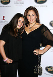 BEVERLY HILLS, CA. - October 11: Actress Kathy Najimy (R) and daughter Samia arrive at St. Jude's 5th Annual Runway For Life Benefit at the Beverly Hilton Hotel on October 11, 2008 in Beverly Hills, California.