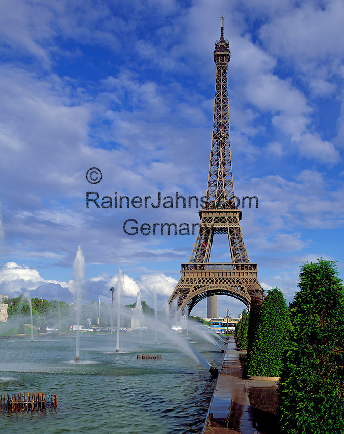Frankreich, Paris: Eiffelturm   France, Paris: Eiffel Tower