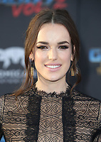 HOLLYWOOD, CA - April 19: Elizabeth Henstridge, At Premiere Of Disney And Marvel's &quot;Guardians Of The Galaxy Vol. 2&quot; At The Dolby Theatre  In California on April 19, 2017. <br /> CAP/MPI/FS<br /> &copy;FS/MPI/Capital Pictures