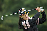 Ji Hyun Oh of South Korea tees off at the 17th hole during Round 2 of the World Ladies Championship 2016 on 11 March 2016 at Mission Hills Olazabal Golf Course in Dongguan, China. Photo by Victor Fraile / Power Sport Images