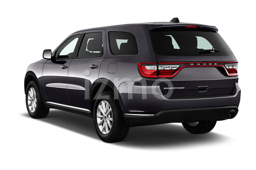 Car pictures of rear three quarter view of 2015 Dodge Durango SXT 5 Door Suv Angular Rear