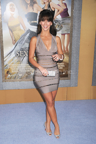 Jennifer Love Hewitt at the film premiere of 'Sex and the City 2' at Radio City Music Hall in New York City. May 24, 2010.Credit: Dennis Van Tine/MediaPunch