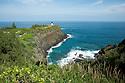 Lighthouse on Kauai in Hawaii.