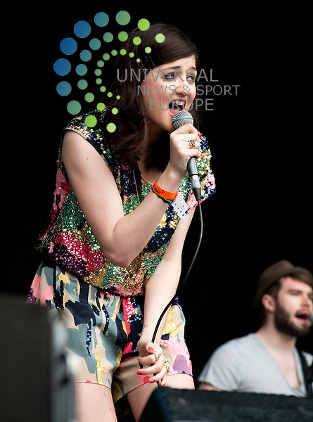 Pearl and the puppets during theRockness Music Festival...Rockness Music Festival, Loch Ness, Inverness , Scotland.  Picture: Euan Anderson/Universal News And Sport (Scotland) 13th June 2010.