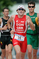 06 AUG 2006 - LONDON, UK - Tim Don - London Triathlon '06. (PHOTO (C) NIGEL FARROW)