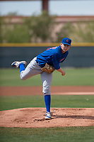 Chicago Cubs starting pitcher Duncan Robinson (40) during a Minor League Spring Training game against the Colorado Rockies at Sloan Park on March 27, 2018 in Mesa, Arizona. (Zachary Lucy/Four Seam Images)