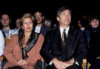 Claude Beauchamps<br /> , Candidat a la mairie de Montreal, avril 1994.<br /> <br /> PHOTO : Agence Quebec Presse