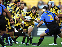 100220 Super 14 Rugby - Hurricanes v Western Force