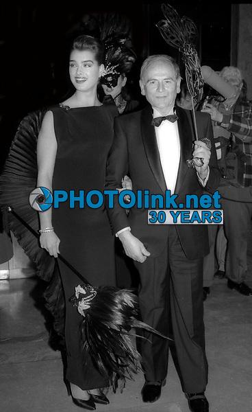 Brooke Shields Pierre Cardin 1985<br /> Photo By Adam Scull/PHOTOlink.net