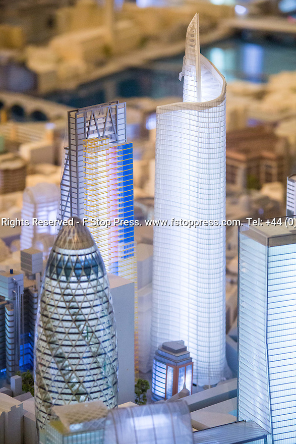 21/09/2014<br /> For only one weekend-a-year, Pipers opens its 1:1500 scale model of the central area of London to the public.<br /> Taking over 5,000 hours to complete, the fastidiously created London model is a dynamic one, with new new models created to reflect London's changing skyline.<br /> All Rights Reserved - F Stop Press. www.fstoppress.com. Tel: +44 (0)1335 300098