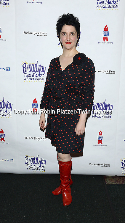 Lauren Cohn attends the 28th Annual  Broadway Cares/ Equity Fights Aids Flea Market and Auction on September 21,2014 in Shubert Alley in New York City. <br /> <br /> photo by Robin Platzer/Twin Images<br />  <br /> phone number 212-935-0770