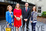 Martina O'Leary (Great Southern Killarney), Maura Casey (Aghadoe Heights Hotel), Imre Szebo (Parknasilla Hotel) and Marie O'Mahoney (Ballygarry House) at the Ballygarry  House Hotel for the IHF Employee of the Year Awards on Tuesday.