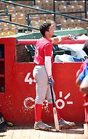Jose Rodriguez participates in the MLB International Showcase at Estadio Quisqeya on February 22-23, 2017 in Santo Domingo, Dominican Republic.