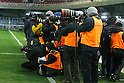 Photographers, FEBRUARY 2, 2012 - Football / Soccer : Charity match between FC Barcelona Femenino 1-1 INAC Kobe Leonessa at Mini Estadi stadium in Barcelona, Spain. (Photo by D.Nakashima/AFLO) [2336]