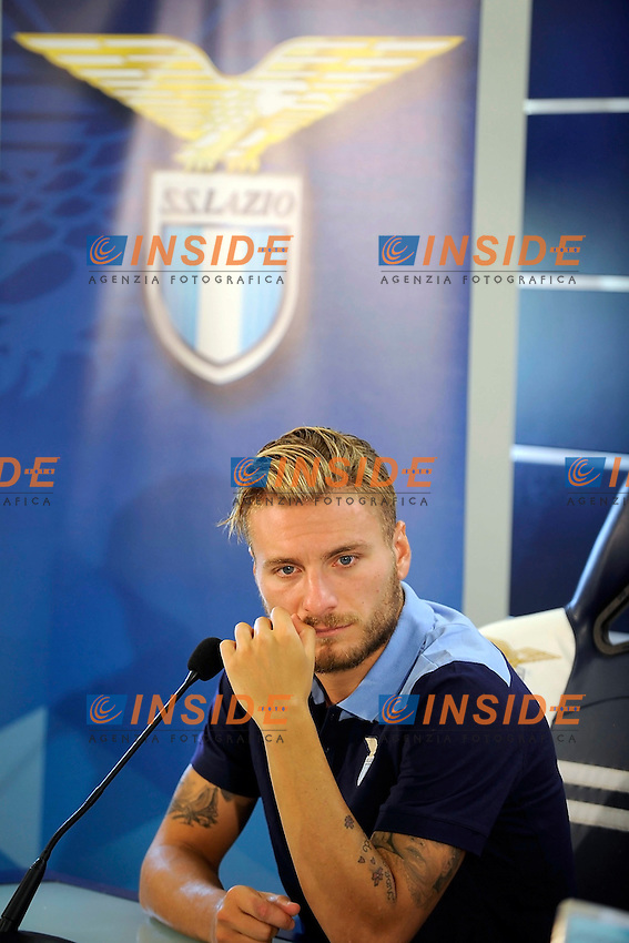Ciro Immobile<br /> Roma 01-08-2016 Conferenza stampa di presentazione di Ciro immobile.<br /> Press conference to present Ciro Immobile<br /> @ Marco Rosi / Fotonotizia / Insidefoto