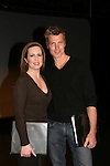 Martha Byrne & Paolo Seganti at the ATWT reunion to benefit Epic Theatre Ensemble after-school Bridge Projects - As The Epic Turns - on April 17 & 18, 2009 at The Peter Jay Sharp Theatre, NYC. (Photo by Sue Coflin/Max Photos)