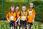 Enjoying the Community Games  at An Riocht Castleisland  on Saturday were Ballyheigue Team Clodagh Carroll, Steven Harty, Max Grezybowski and Jack Cashman