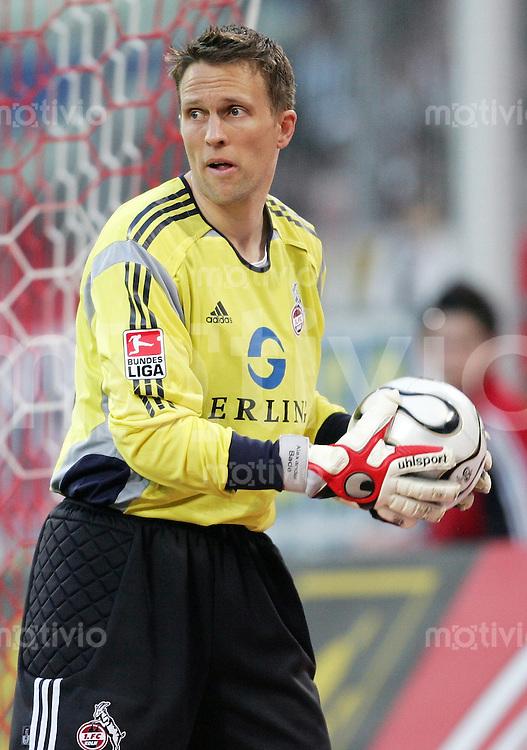 Fussball 1. Bundesliga Saison 2005/2006 Torwart Alexander BADE (1. FC Koeln)