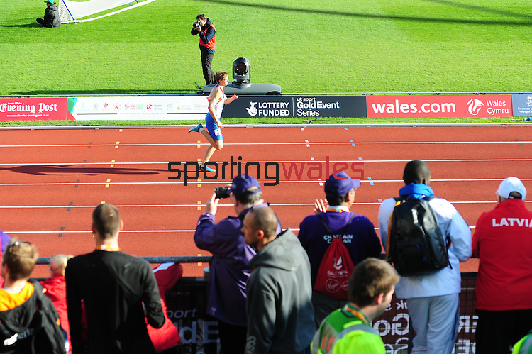 IPC European Athletics Championship 2014<br /> Swansea University<br /> <br /> Alexey Kotlov (RUS) - men's 400m T47.<br /> <br /> 22.08.14<br /> Chris Vaughan-SPORTINGWALES