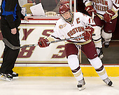 Danielle Welch (BC - 17) - The Boston College Eagles defeated the visiting St. Lawrence University Saints 6-3 (EN) in their NCAA Quarterfinal match on Saturday, March 10, 2012, at Kelley Rink in Conte Forum in Chestnut Hill, Massachusetts.