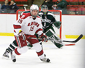 Alex Killorn (Harvard - 19) - The Harvard University Crimson defeated the Dartmouth College Big Green 4-1 (EN) on Monday, January 18, 2010, at Bright Hockey Center in Cambridge, Massachusetts.