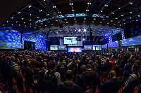 Philadelphia, PA - Friday January 19, 2018: MLS SuperDraft during the 2018 MLS SuperDraft at the Pennsylvania Convention Center.