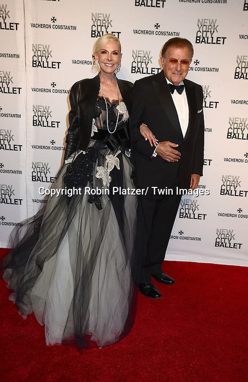 Lawrence Herbert and wifeMichele Herbert attends the New York City Ballet Spring 2014 Gala on May 8, 2014 at David Koch Theatre in Lincoln Center in New York City, NY, USA.