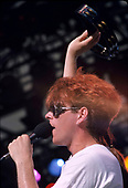 THE THOMPSON TWINS, LIVE, 1983, NEIL ZLOZOWER
